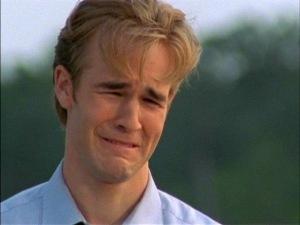 C'è sempre un crying Dawson pronto ad uscire fuori di te ogni volta che vieni mollato.