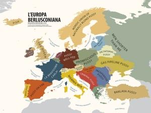 L'Europa secondo gli stereotipi di Berlusconi.